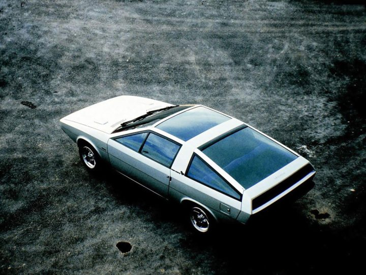 1974 Hyundai Coupe Concept by Italdesign Giugiaro