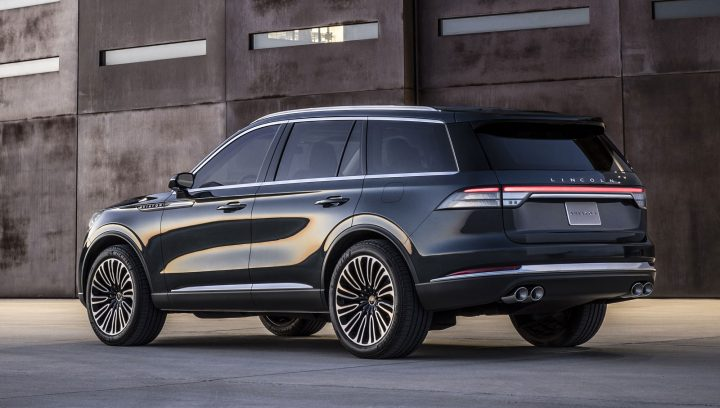 Lincoln Aviator Concept Previews Upcoming Hybrid Suv Car Body Design