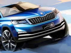 Škoda previews compact SUV for China with design sketches