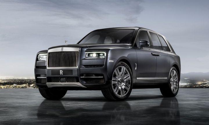 Rolls Royce Cullinan Suv Revealed Car Body Design