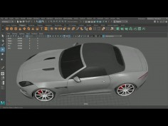Maya 3D Car Modeling Tutorial