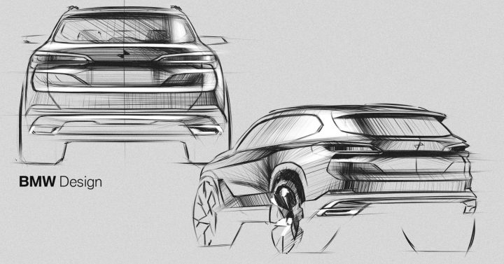 New BMW X5 Design Sketches