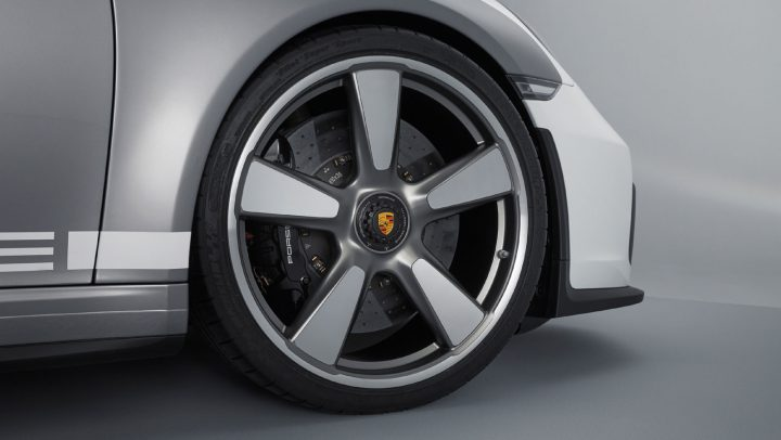 Porsche 911 Speedster Concept Wheel Design