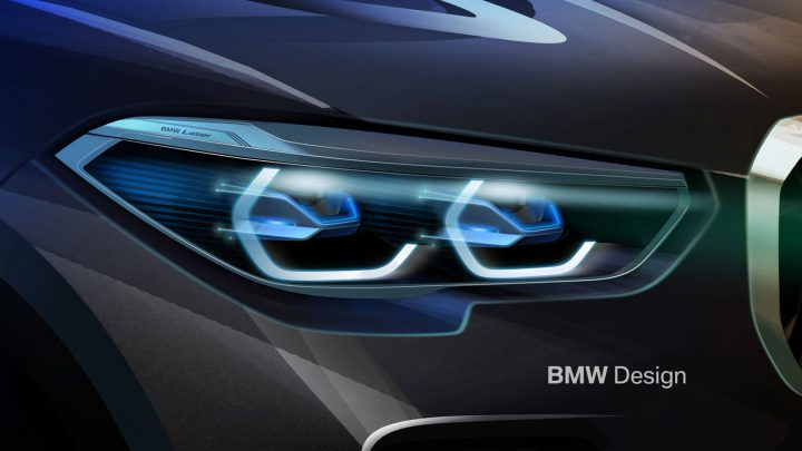 New BMW X5 Headlight Design Sketch Render