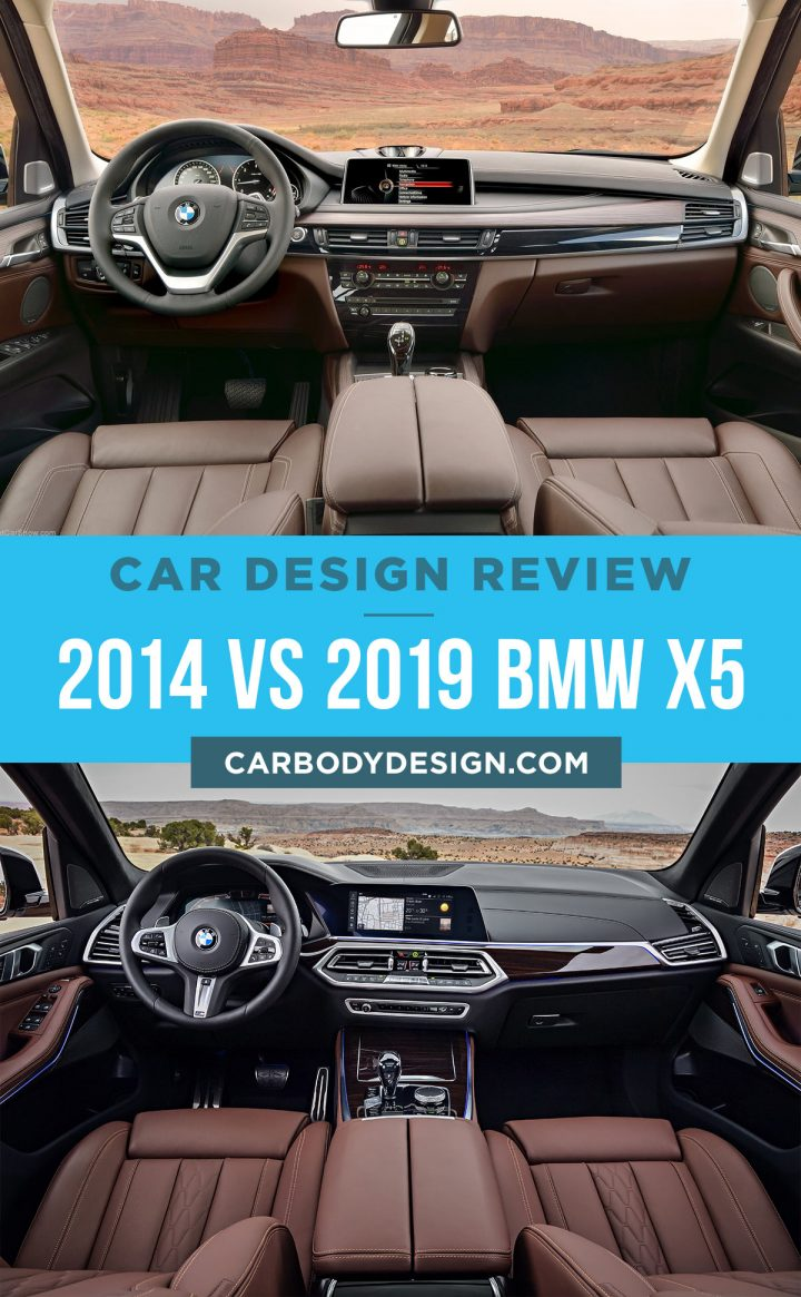 2014 vs 2019 BMW X5 Interior Design