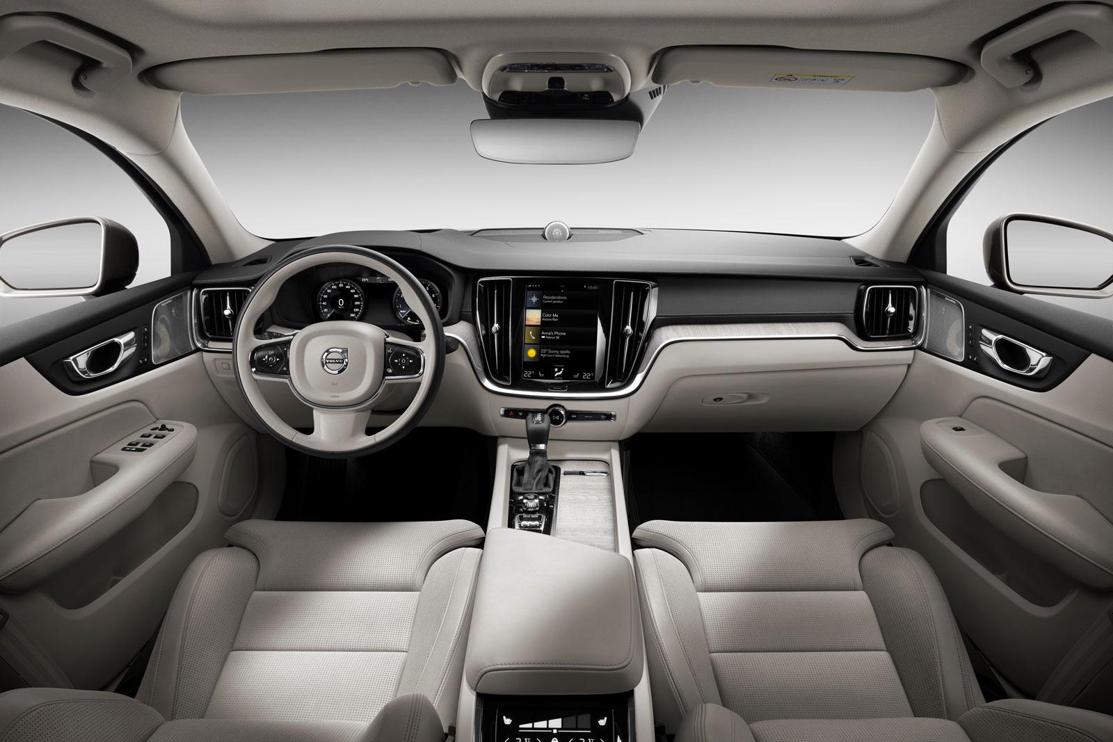 Volvo S60 Inscription Interior Design - Car Body Design