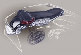 2014 Audi TT Interior Design Sketch