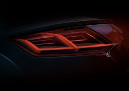 2014 Audi TT Tail Light Design Sketch