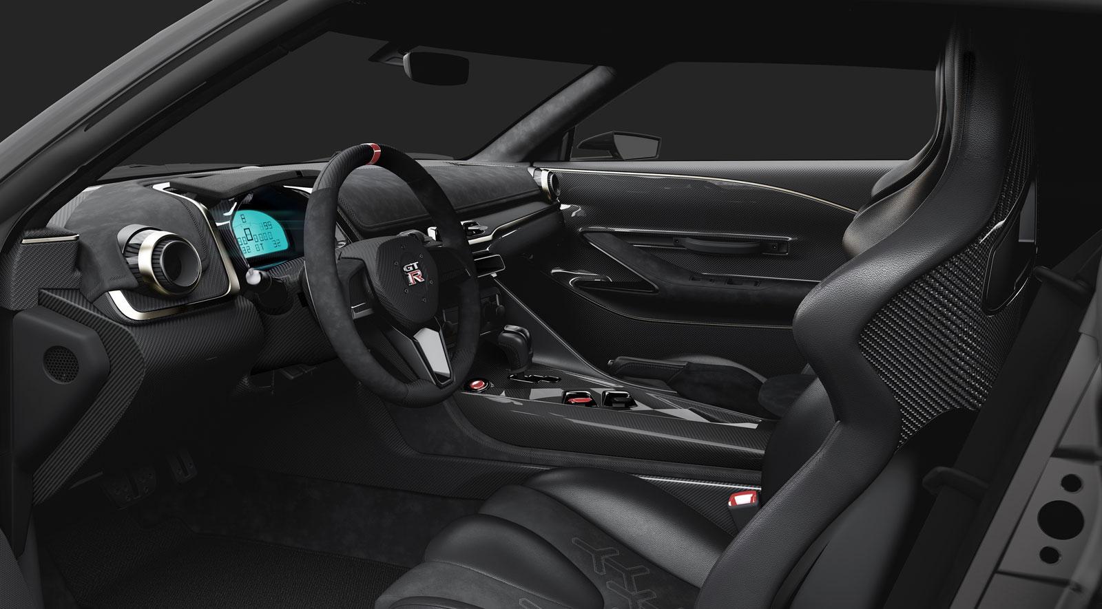 Italdesign Nissan GT R 50 Interior - Car Body Design
