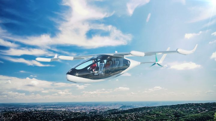 Rolls-Royce EVTOL Concept Vehicle Private Model
