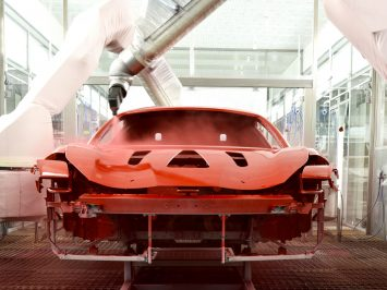 Ferrari introduces industry's first low-bake paint technology   - Car Body Design