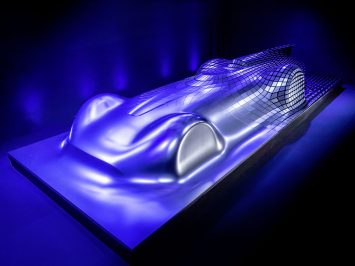 "Mercedes-Benz ""Aesthetics Progressive Luxury"" design sculpture   - Car Body Design"