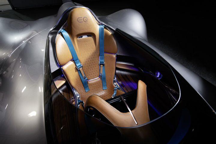 Mercedes Benz Vision EQ Silver Arrow Concept Interior