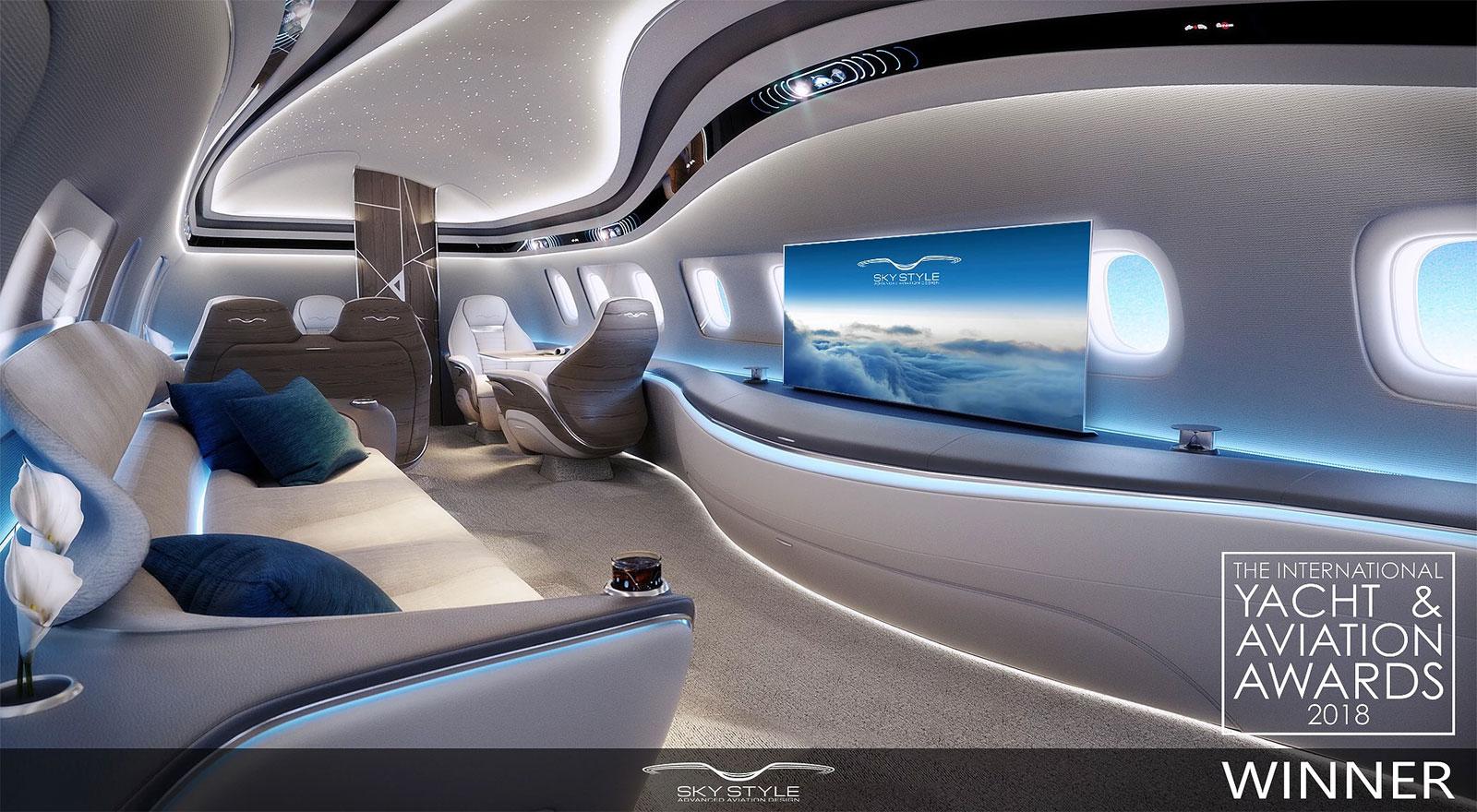 Sky Stile Advanced Interior Design By ADI Studio