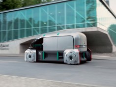 Renault EZ-PRO Concept envisions robo-pods system for last mile delivery