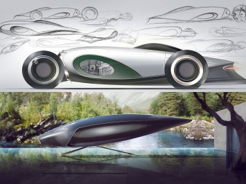 Bentley and RCA envision the future of British Luxury   - Car Body Design