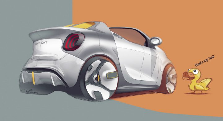 Smart Forease Concept Car Body Design