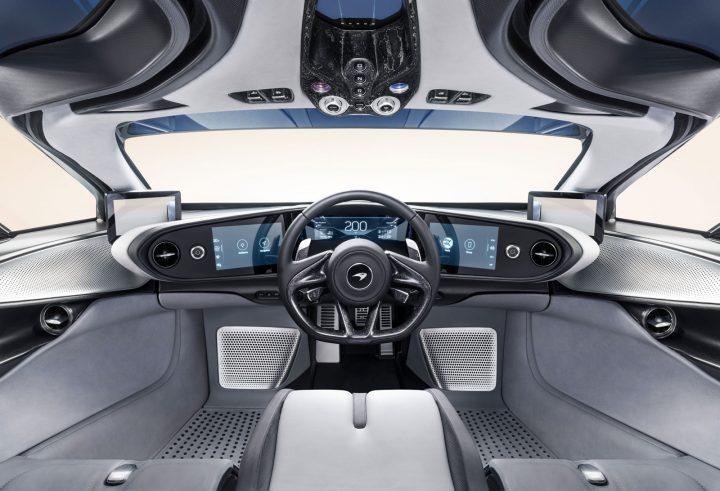 Mclaren Reveals Speedtail Testing Prototype Car Body Design