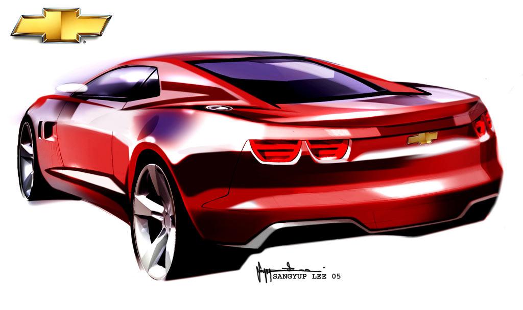 Chevrolet Camaro Concept: design images - Car Body Design