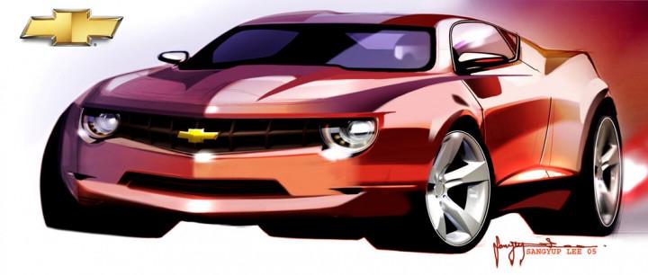 Chevrolet Camaro Concept Design Images