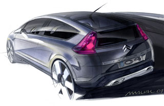 Citroen C4 design sketch