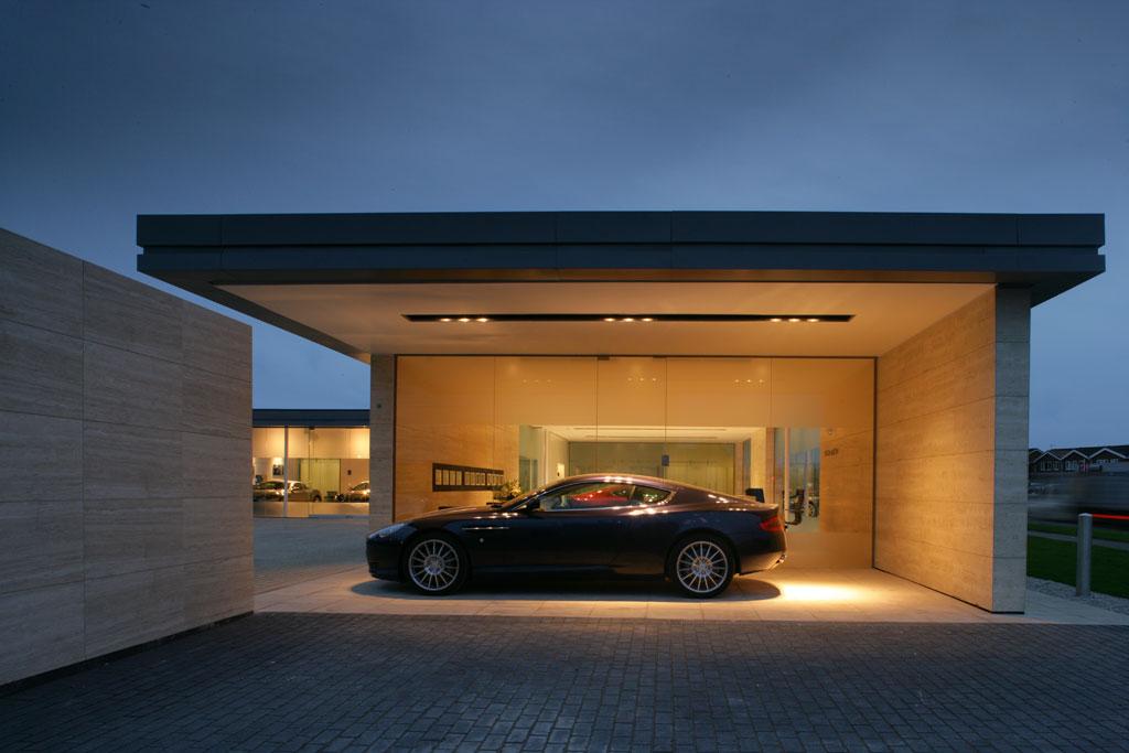 Aston Martin Showroom Design Car Body Design