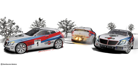 Lancia Delta concept - Racing Martini WRC version