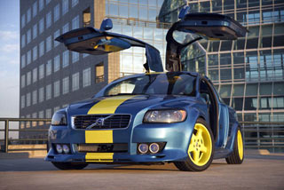 Volvo C30 by IPD - Gull-wing doors