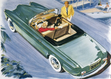 The BMW 503 Cabriolet