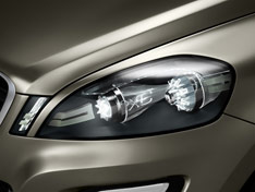 Volvo XC60 Concept - Headlight