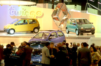 Renault Twingo at Paris 1992