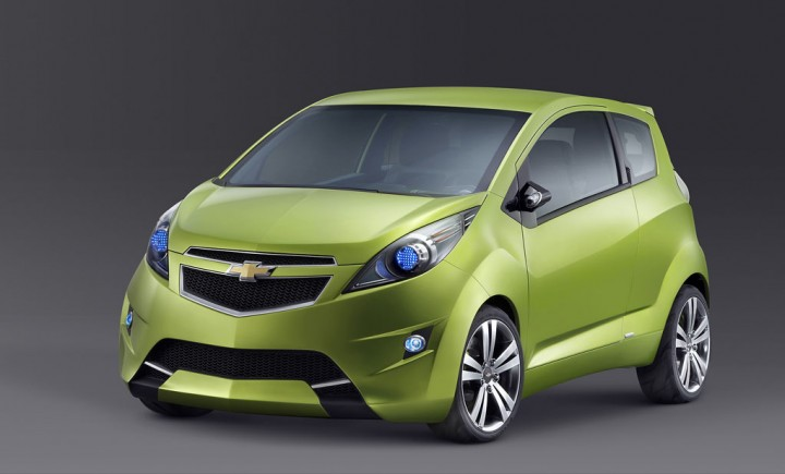 Chevrolet Beat Concept Car Body Design