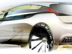 Chery Shooting Sport: new sketches