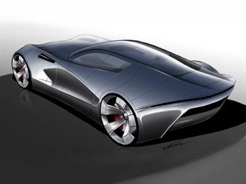 Aston Martin Db One Concept Car Body Design
