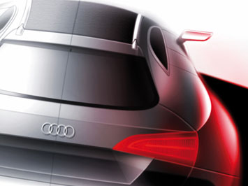 Audi Cross Coupe quattro - design sketch