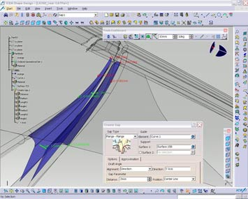Icem Shape Design R17 Screenshot