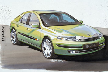 Renault New Laguna Preview Page 2 Car Body Design