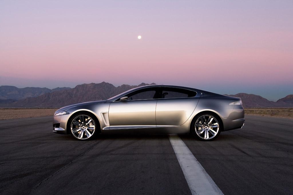 jaguar c xf concept - car body design
