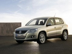 Volkswagen Tiguan: first images