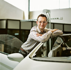 Stefan Lamm, Chief Exterior Designer - Ford of Europe