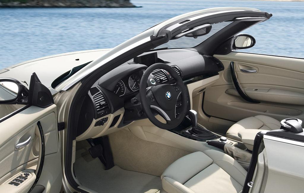 Bmw 1 Series Convertible Interior Car Body Design