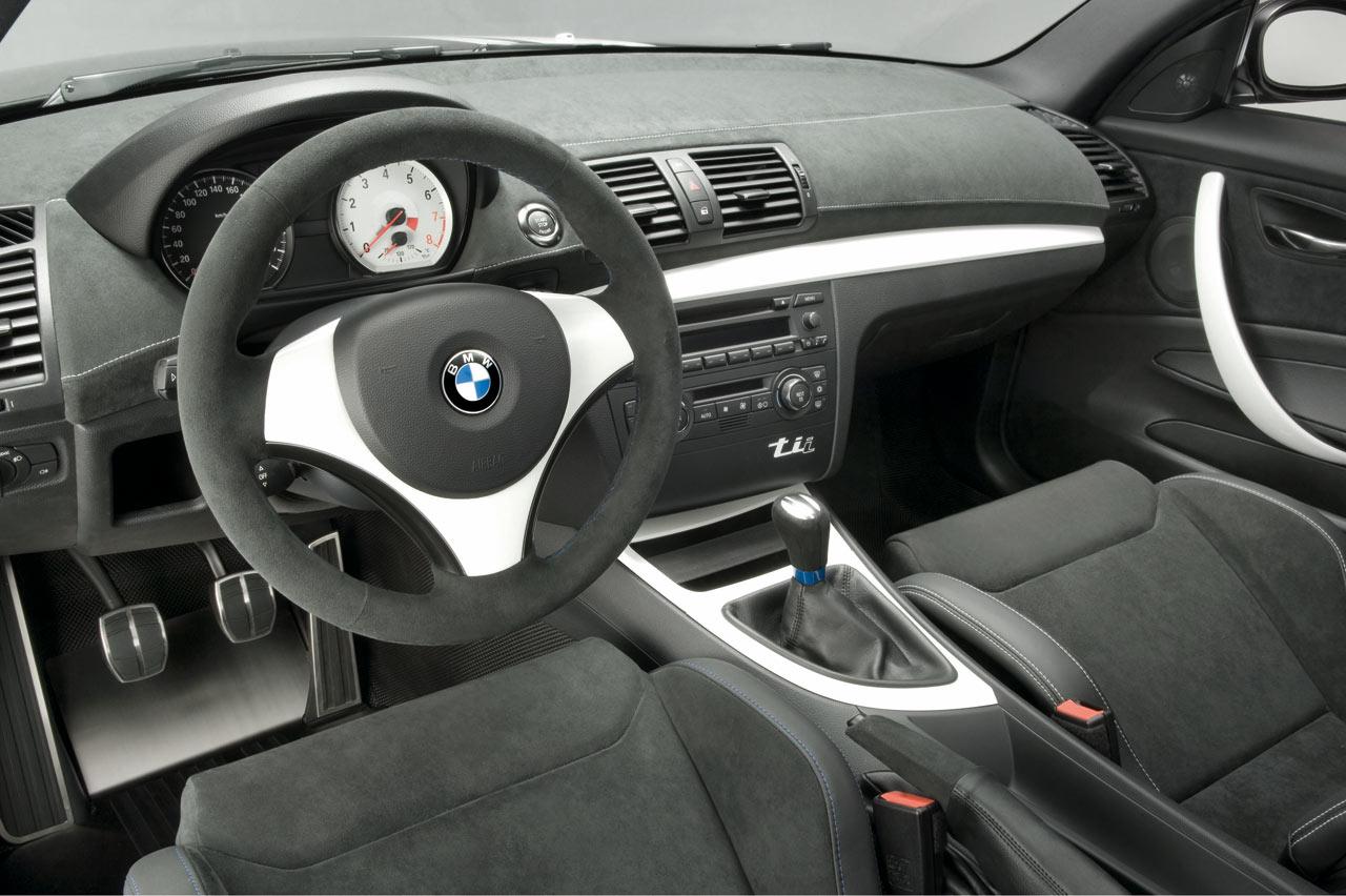 Bmw Concept 1 Series Tii Interior Car Body Design