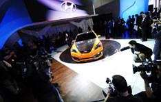 Hyundai Concept Genesis Coupe - debut at LA Auto Show