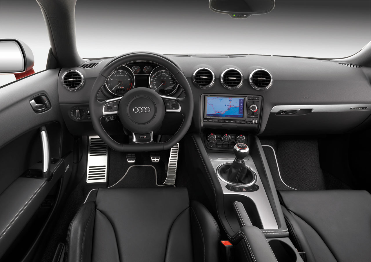 Audi Tts Coupe Interior Car Body Design