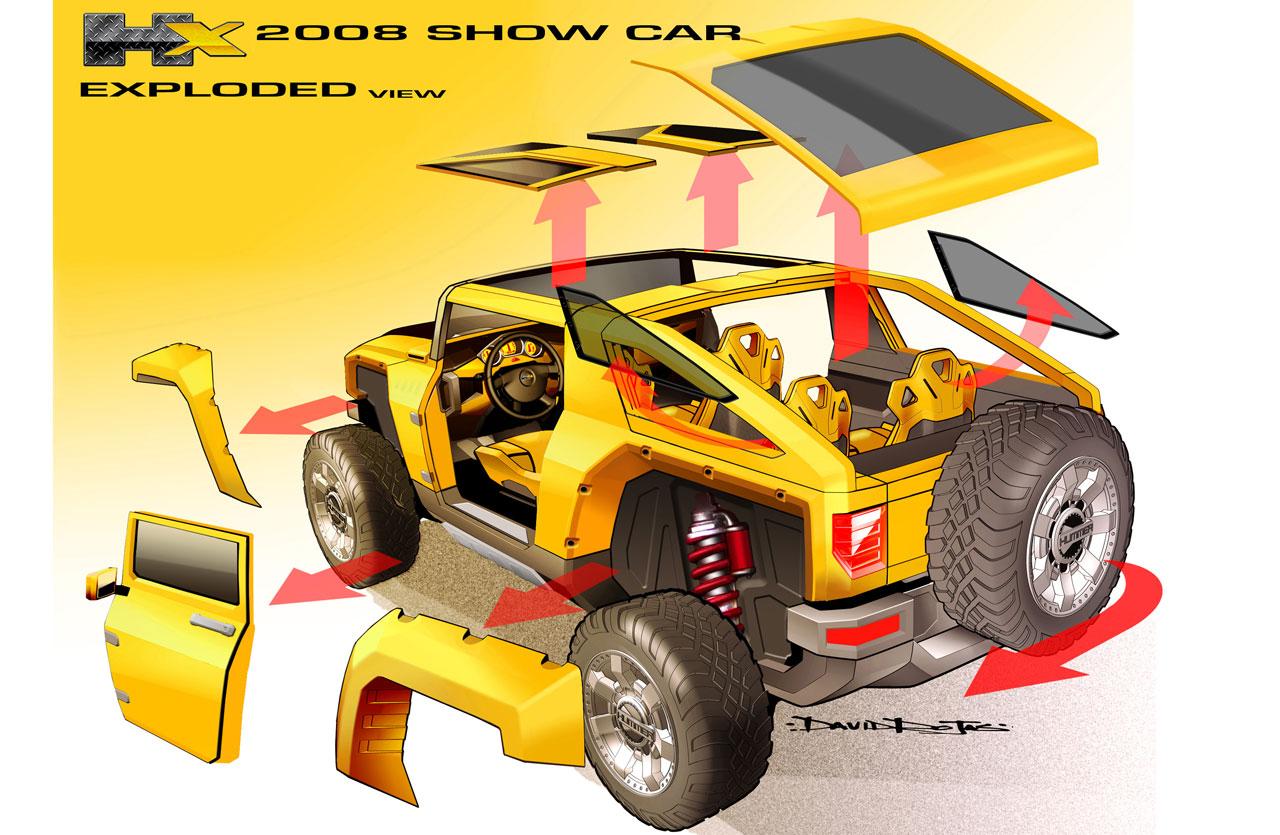 Hummer Hx Concept Car Body Design Alpha 2008 Wiring Diagram