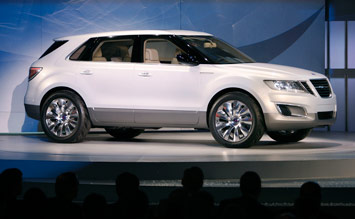 Saab 9-4X BioPower Concept - debut at Detroit 2008