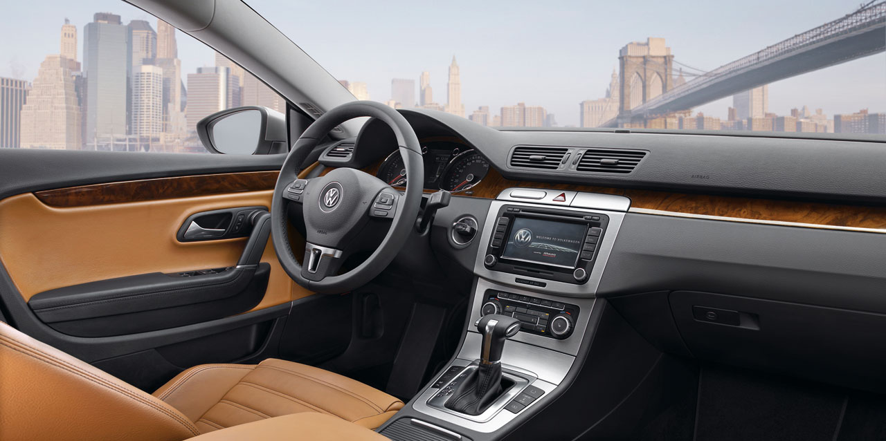 Vw Passat Cc Interior Car Body Design