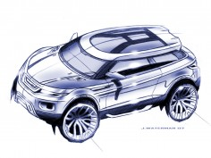 Land Rover LRX Concept: design images