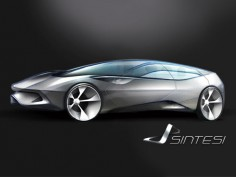 Pininfarina Sintesi: first image
