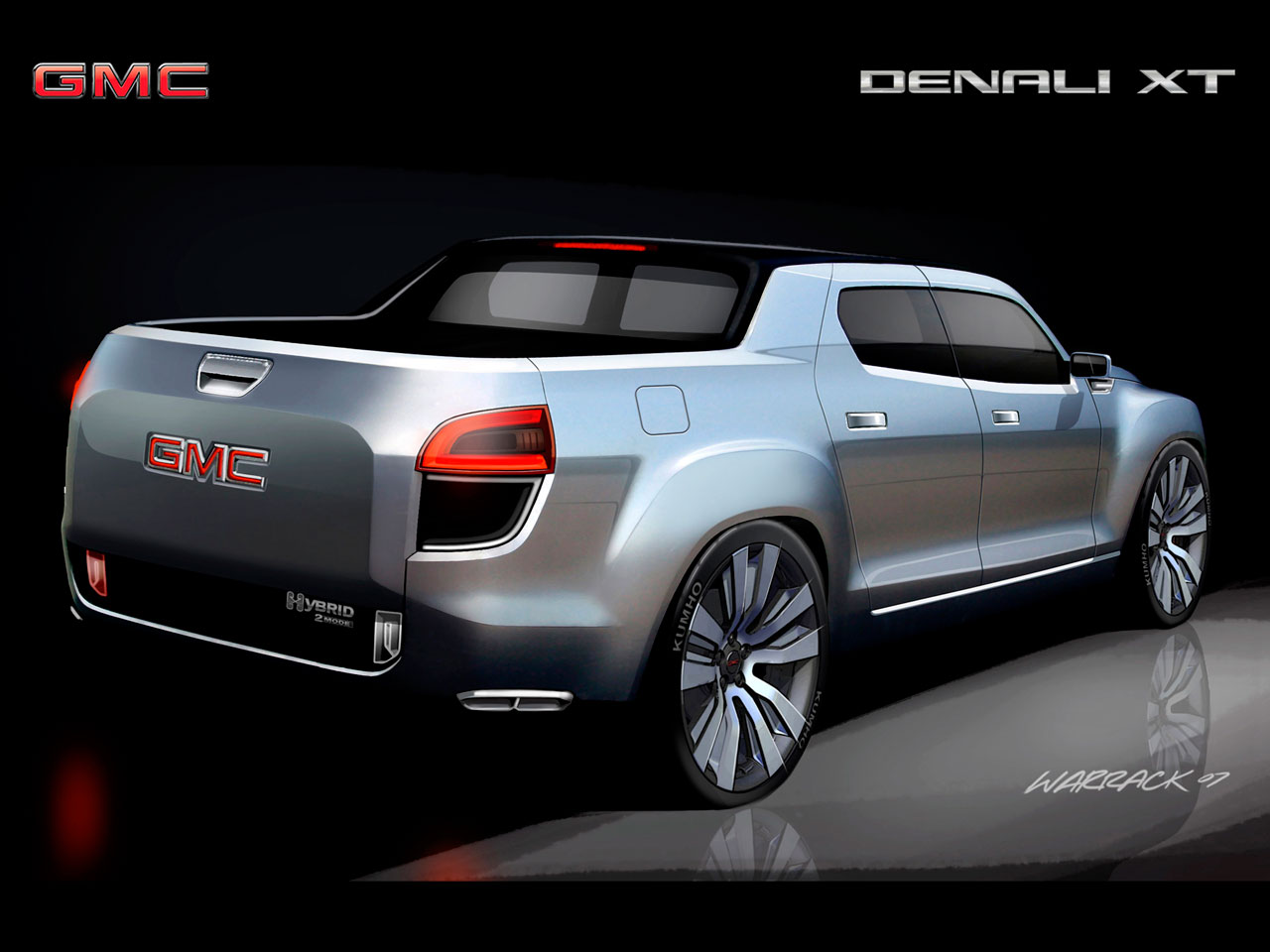 Gmc Denali Xt Concept Rendering